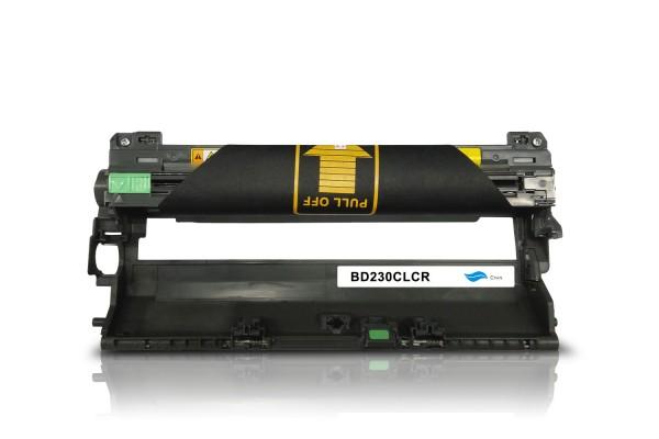 Rebuilt zu Brother DR-230CL Bildtrommel Cyan