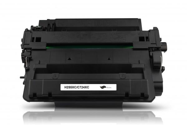 Kompatibel zu HP CE255X / 55X Toner Black