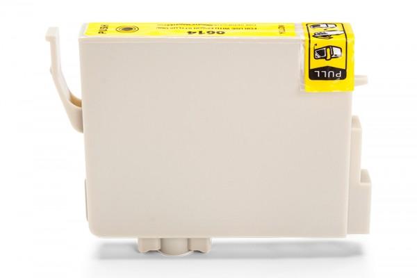 Kompatibel zu Epson C13T06144010 / T0614 Tinte Yellow