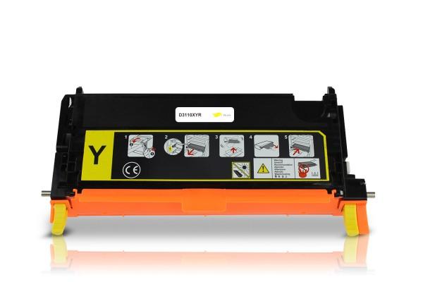 Rebuilt zu Dell 593-10173 / NF556 / 3110 Toner Yellow