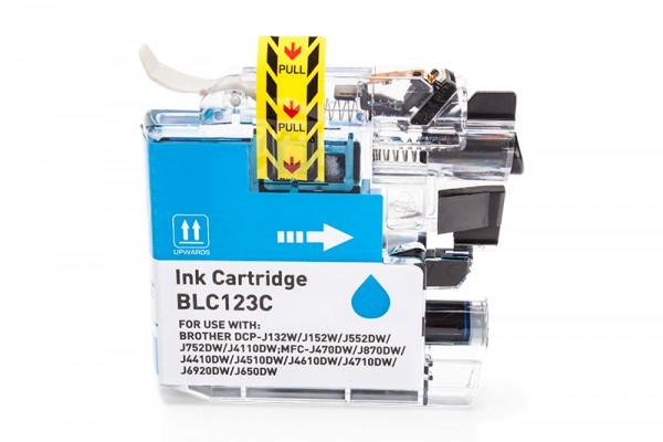 Kompatibel zu Brother LC-123C Tinte Cyan