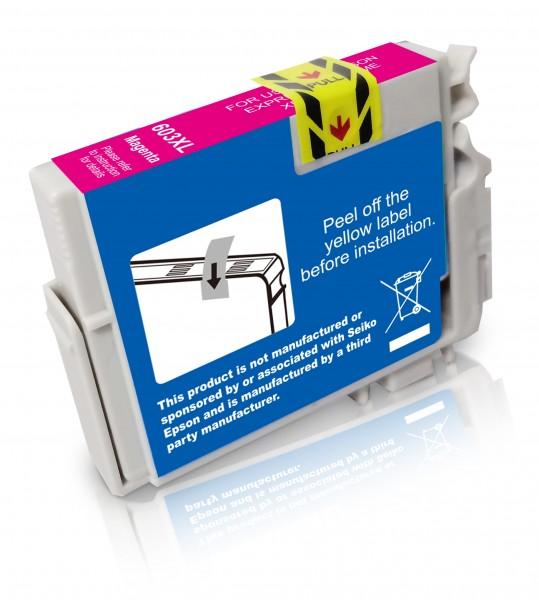 Kompatibel zu Epson 603 XL / C13T03A34010 Tinte Magenta (BULK)