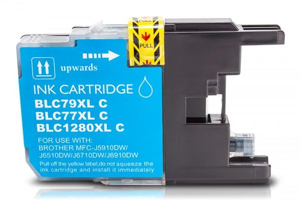 Kompatibel zu Brother LC-1280 XL Tinte Cyan