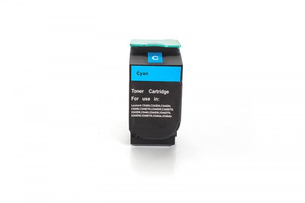 Kompatibel zu Lexmark 0C540H1CG Toner Cyan