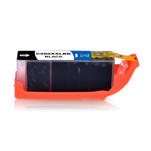 Kompatibel zu Canon PGI-580PGBK / 1970C001 Tinte Pigment-Black XXL (BULK)