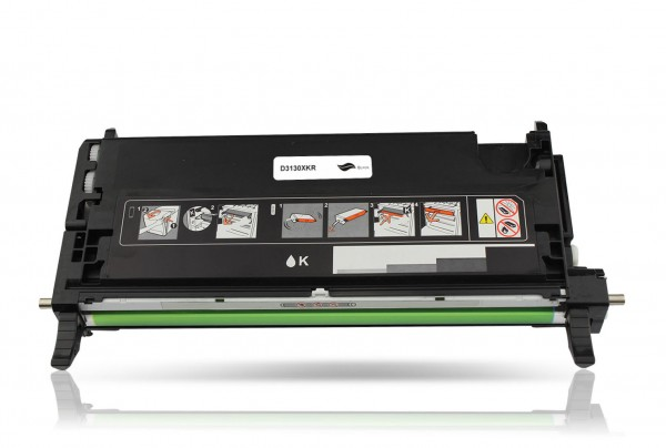 Rebuilt zu Dell 593-10289 / H516C Toner Black