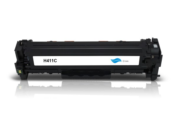 Kompatibel zu HP CF411X / 410X Toner Cyan
