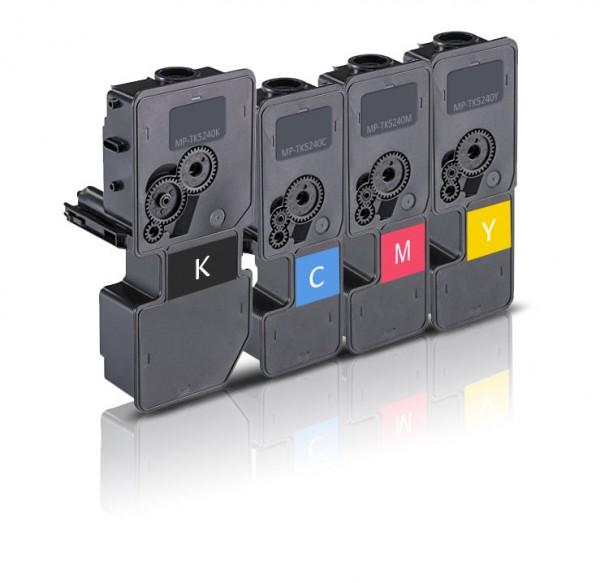 Kompatibel zu Kyocera TK-5240 Toner Multipack CMYK (4er Pack)