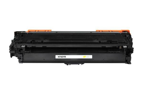Kompatibel zu HP CE742A / 307A Toner Yellow