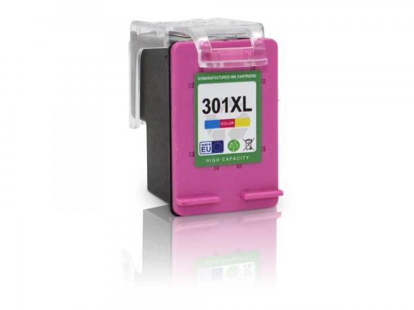 Kompatibel zu HP 301 XL / CH564EE Tinte Color mit Füllstandsanzeige (EU)