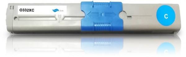Kompatibel zu OKI 46508711 / C332 Toner Cyan