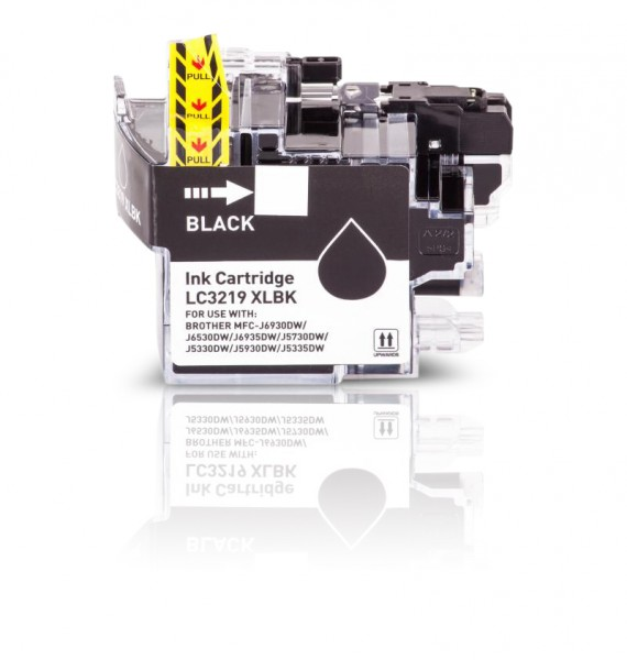 Kompatibel zu Brother LC-3219 XL Tinte Black