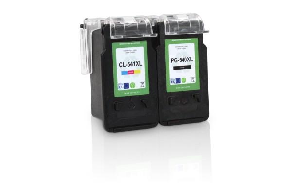 Kompatibel zu Canon PG-540 XL / CL-541 XL / 5225B006 Tinten Multipack (1x Black / 1x Color) (EU)