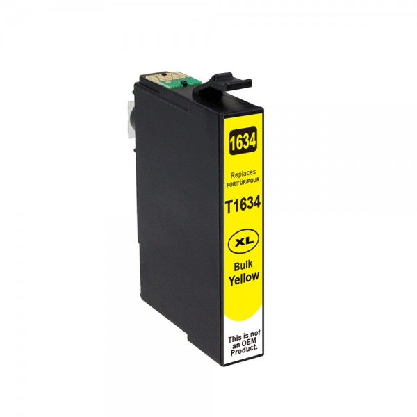 Kompatibel zu Epson 16 XL / C13T16344010 Tinte Yellow (BULK)