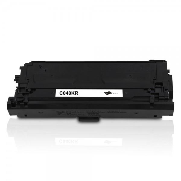 Rebuilt zu Canon 040 / 0460C001 Toner Black