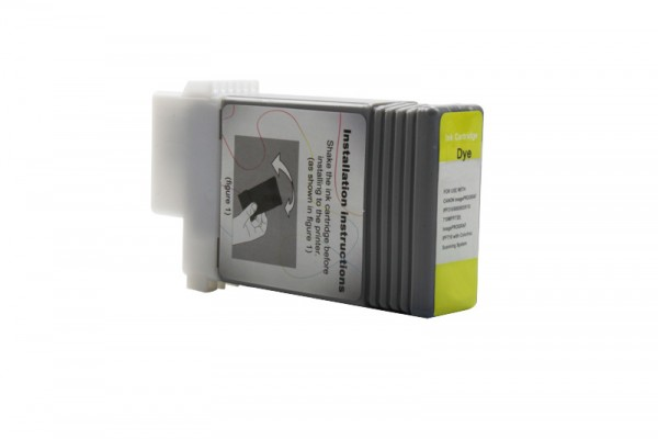 Kompatibel zu Canon 0886B001 / PFI-101Y Tinte Yellow