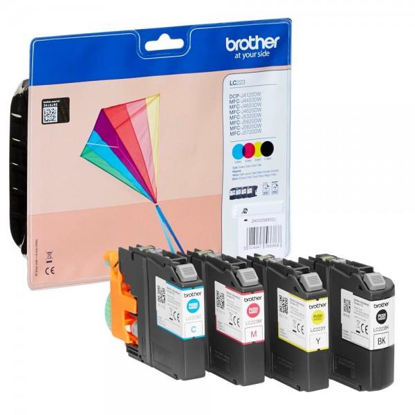 Brother LC-223VALBPDR Tinten Multipack CMYK (4er Set)