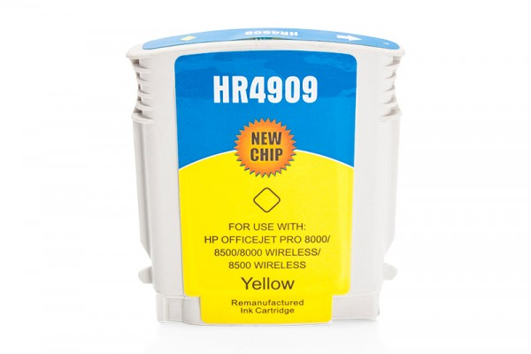 Kompatibel zu HP 940 XL / C4909AE Tinte Yellow