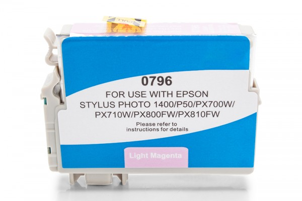 Kompatibel zu Epson T0796 / C13T07964010 Tinte Light Magenta