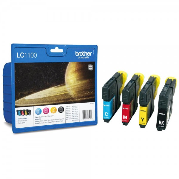 Brother LC-1100 Tinten Multipack CMYK (4er Set)