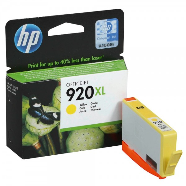 HP 920 XL / CD974AE Tinte Yellow