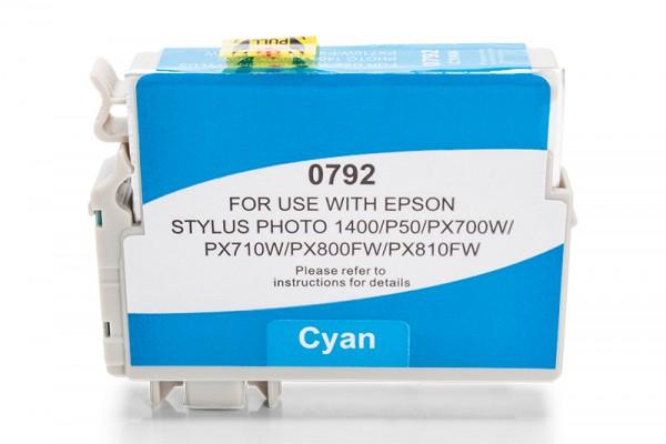 Kompatibel zu Epson T0792 / C13T07924010 Tinte Cyan