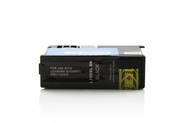 Kompatibel zu Lexmark 150 XL / 14N1614E Tinte Black