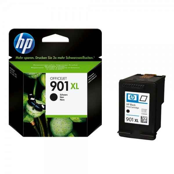 HP 901 XL / CC654AE Tinte Black