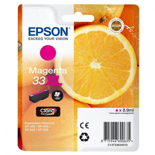 Epson 33 XL / C13T33634012 Tinte Magenta