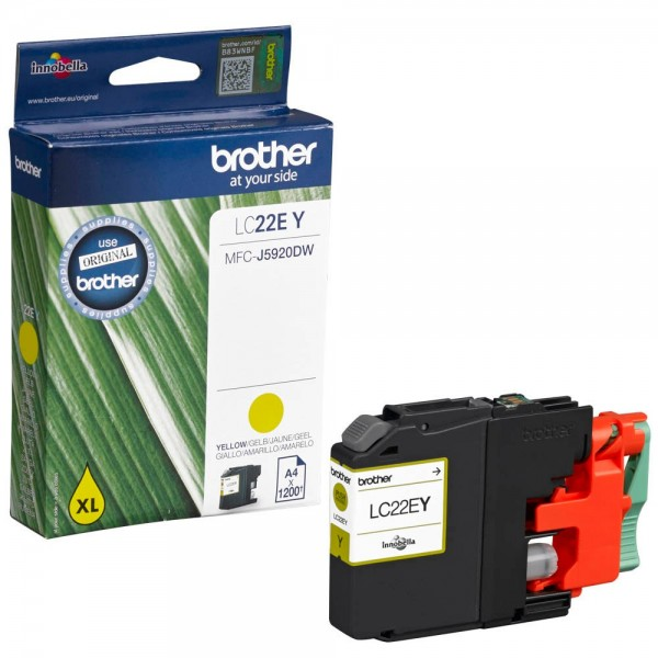 Brother LC-22EY Tinte Yellow