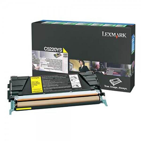 Lexmark C5220YS Toner Yellow