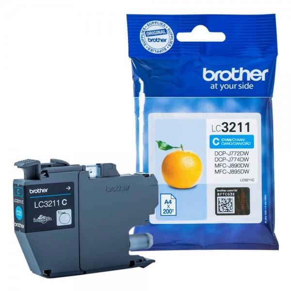 Brother LC-3211C Tinte Cyan