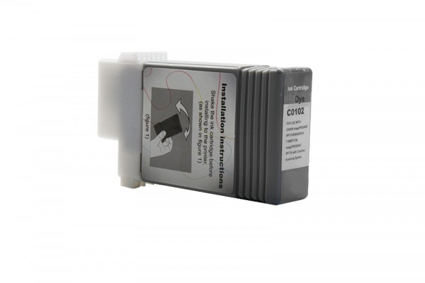 Kompatibel zu Canon 0895B001 / PFI-102BK Tinte Black