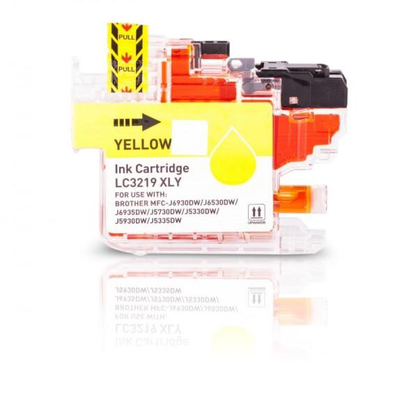 Kompatibel zu Brother LC-3219 XL Tinte Yellow