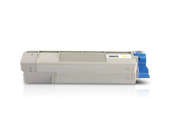 Kompatibel zu OKI 43865721 / C5850 / C5950 Toner Yellow