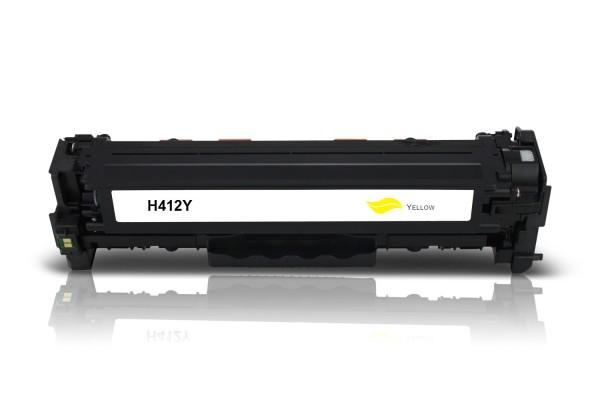 Kompatibel zu HP CF412X / 410X Toner Yellow
