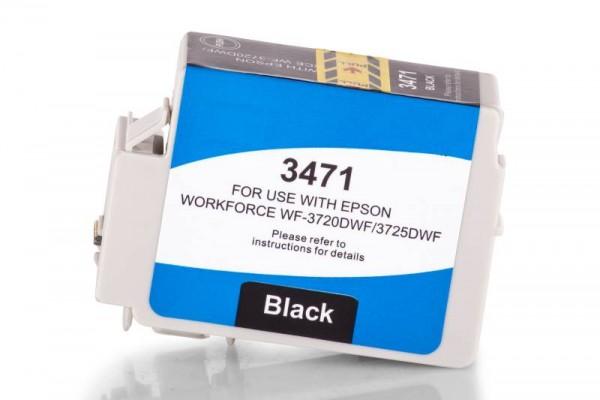 Kompatibel zu Epson 34 XL / C13T34714010 Tinte Black (Bulk)
