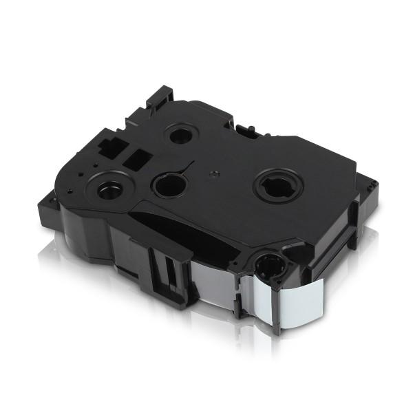 Kompatibel zu Brother TZE-541 P-Touch Schriftband 18mm Schwarz auf Blau