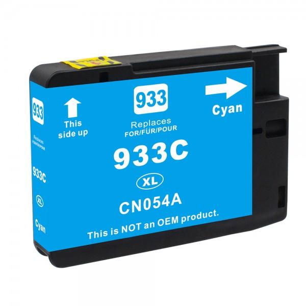 Kompatibel zu HP 933 XL / CN054AE Tinte Cyan (BULK)