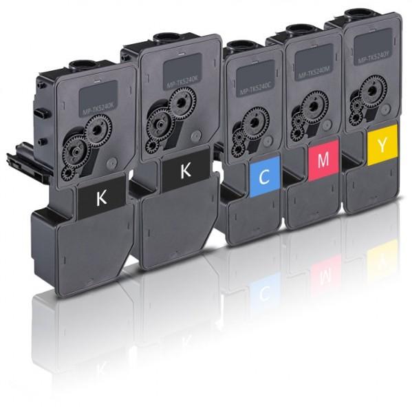 Kompatibel zu Kyocera TK-5240 Toner Multipack CMYK (5er Pack)