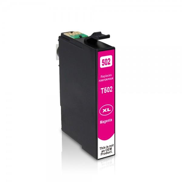 Kompatibel zu Epson 502 XL / C13T02W34010 Tinte Magenta