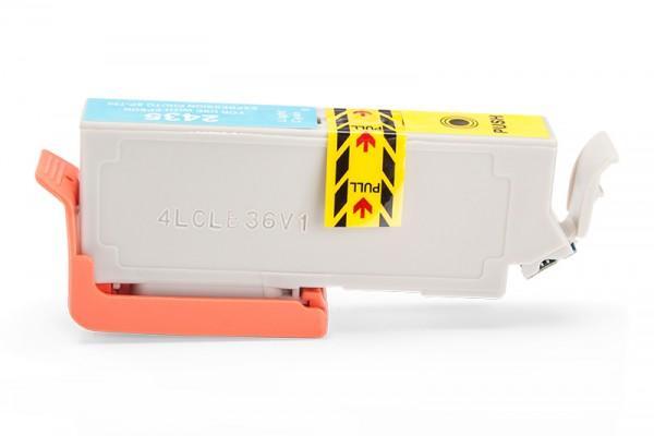 Kompatibel zu Epson 24 XL / C13T24354012 Tinte Light-Cyan