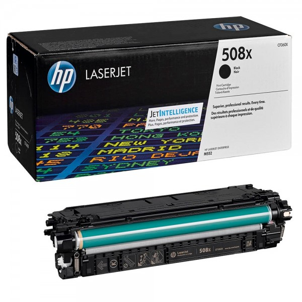 HP CF360X / 508X Toner Black