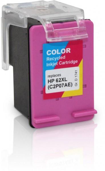 Kompatibel zu HP 62 XL / C2P07AE Tinte Color (EU)