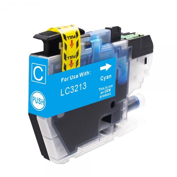 Kompatibel zu Brother LC-3213 C Tinte Cyan