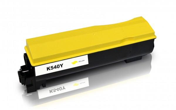 Kompatibel zu Kyocera TK-540Y / 1T02HLAEU0 Toner Yellow XXL