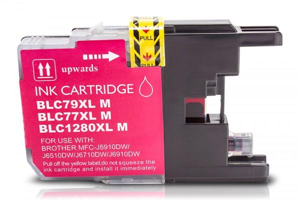 Kompatibel zu Brother LC-1280 XL Tinte Magenta