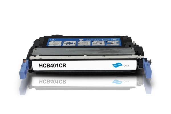Rebuilt zu HP CB401A / 642A Toner Cyan