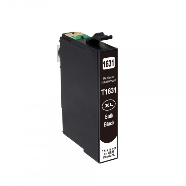 Kompatibel zu Epson 16 XL / C13T16314010 Tinte Black (BULK)