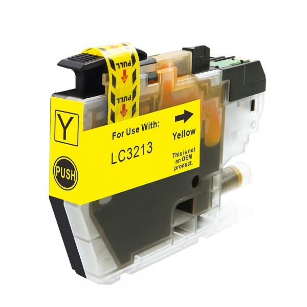 Kompatibel zu Brother LC-3213 Y Tinte Yellow